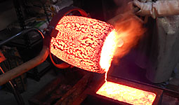 SMELTING AND CASTING PROCESS