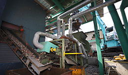 CRUSHING AND SEGREGATION PROCESS